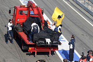 Formula 1 Breaking news Wolff, Nasr uninjured after testing crash