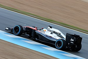Formula 1 Testing report A better day for McLaren in Barcelona