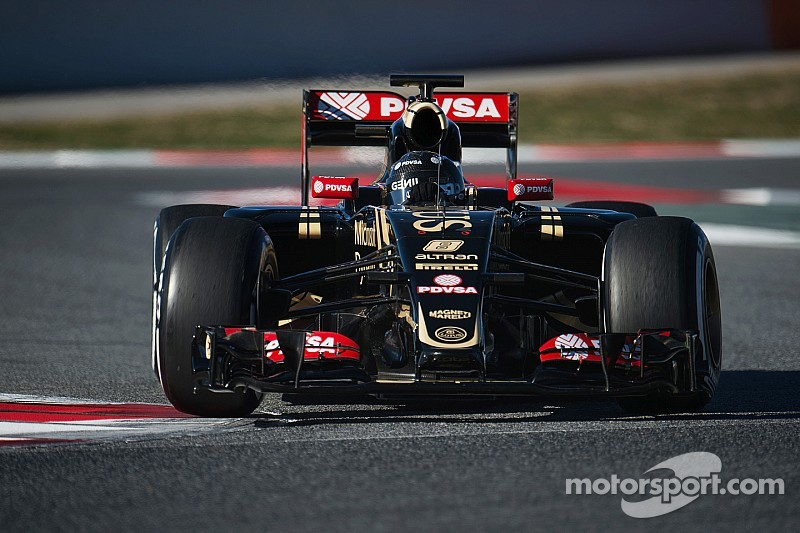 Grosjean sets fastest lap of the week in Barcelona F1 test