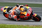 Marquez goes quickest on day two at Sepang