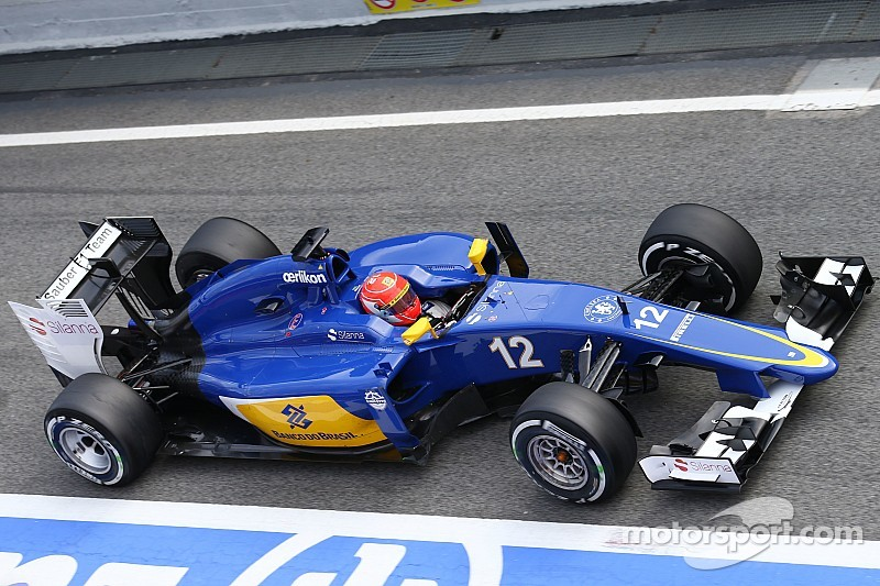 Another positive day for the Sauber and Felipe Nasr in Barcelona