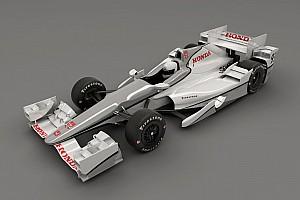 IndyCar Noticias Honda presenta su kit aerodinámico para IndyCar