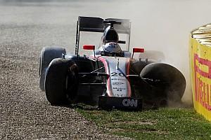 Formula 1 Breaking news Magnussen takes blame for FP2 crash