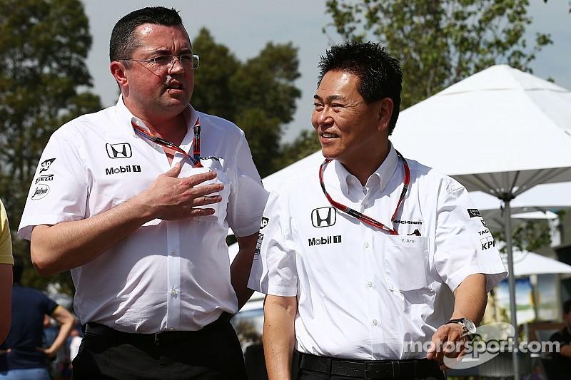 McLaren fue conservador con sus motores