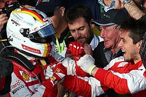 Formula 1 Breaking news Ferrari delighted with Vettel podium