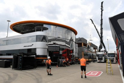 Wie McLaren ohne eigenes Motorhome klarkommen würde