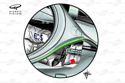 Formel-1-Technik: Diese Änderungen nahm Mercedes für DAS vor