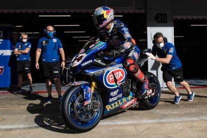 Yamaha beim Barcelona-Test: Viele neue Teile, schwerer Sturz von Razgatlioglu