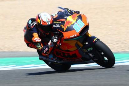 Moto2-Test in Jerez: Tom Lüthi nur knapp von Jorge Martin geschlagen