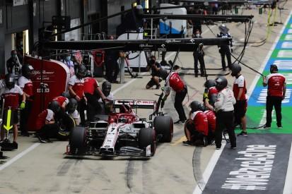 """Kimi Räikkönen und Alfa Romeo: """"Am falschen Ende der Startaufstellung"""""""