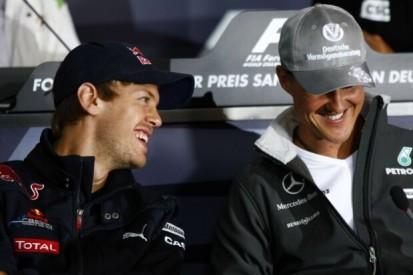 Sebastian Vettel: Schumacher bleibt der beste Formel-1-Fahrer aller Zeiten