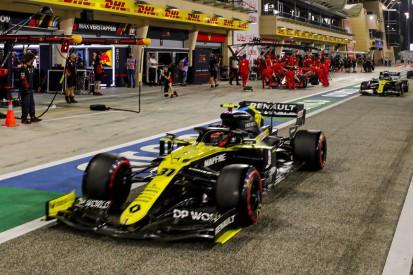 Esteban Ocon vs. Daniel Ricciardo: Knapp vorbei ist auch daneben ...