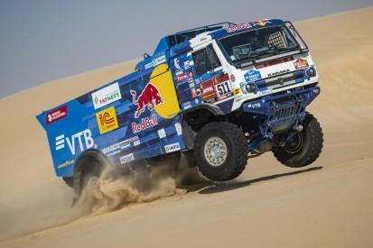 Trucks bei der Rallye Dakar: Alle jagen die favorisierte Kamaz-Mannschaft