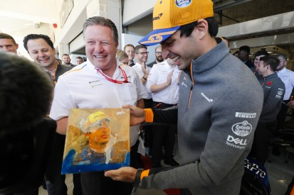 Zak Brown: Carlos Sainz hat unsere Erwartungen übertroffen