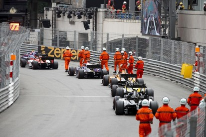 Stewards admit to Monaco F2 error with lapped cars under red flag
