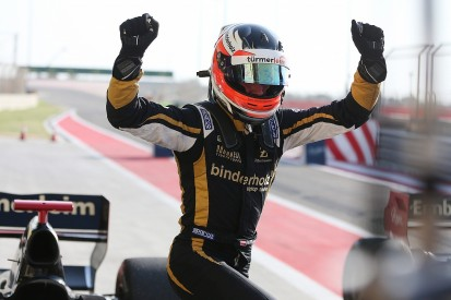 FV8 3.5 Bahrain: Binder beats Fittipaldi to win last ever race