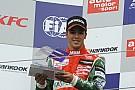 GP3 - Antonio Fuoco en test à Abu Dhabi