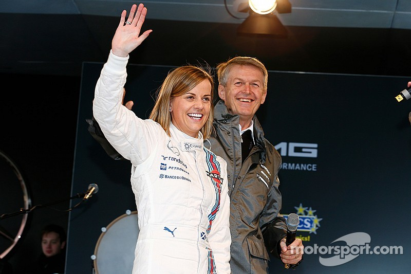 Williams descarta a Susie Wolff para relevar a Bottas