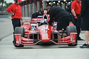 IndyCar Отчет о тестах Команды IndyCar начали подготовку к сезону