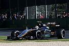 Force India doit saisir chaque opportunité comme à Melbourne