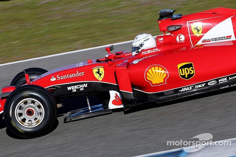 Vettel - La Ferrari est meilleure que la Red Bull 2014