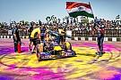 Дэвид Култард провел демонстрационные заезды Red Bull в Индии