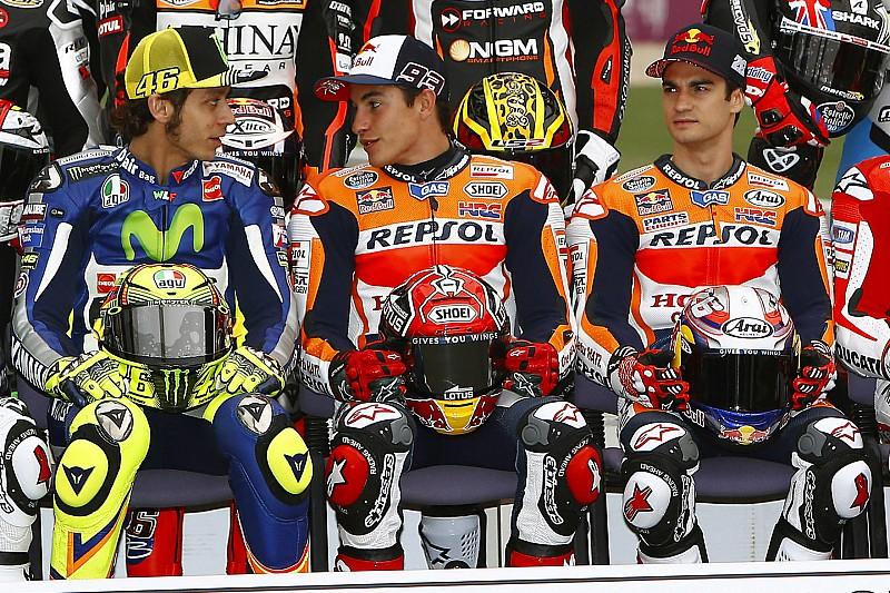 Rossi et Márquez adressent un message à Pedrosa