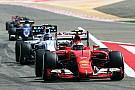 Raikkonen leads Ferrari 1-2 in first Bahrain practice