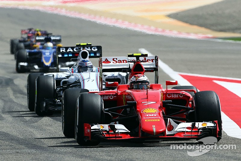 Raikkonen leads Ferrari 1-2 in first Bahrain practice