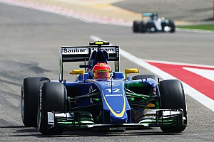 Formula 1 Practice report A smooth practice day for Sauber in Bahrain