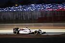 Massa arrache un point dans la douleur à Bahreïn