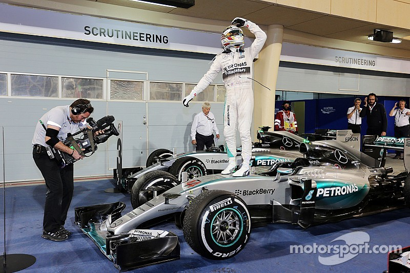 Double podium for Mercedes in enthralling Bahrain Grand Prix