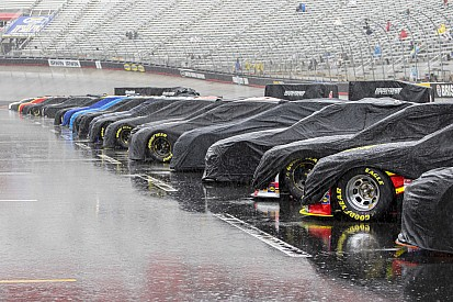 To race or not to race... The longest Bristol event in NASCAR history