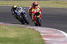 Marquez says fighting Rossi