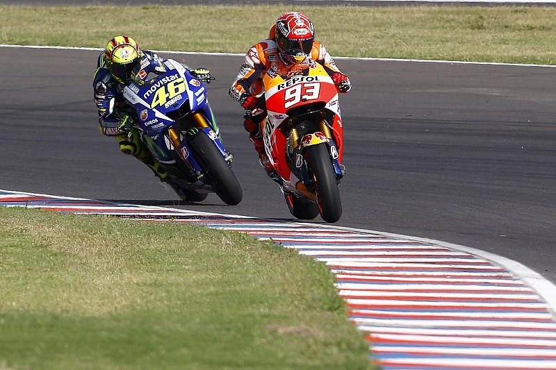 "Marquez says fighting Rossi ""a privilege"""
