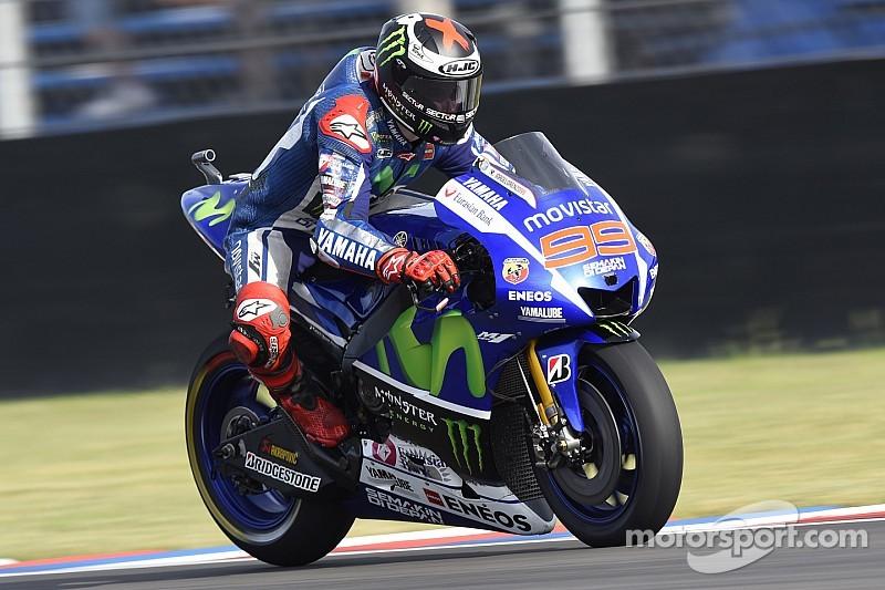 Lorenzo tuvo un buen comienzo en Jerez