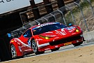 Ferraris put solid points in the bank at Laguna Seca