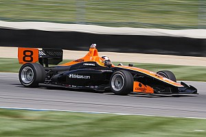 Indy Lights Race report Rayhall, 8Star score impressive Indy Lights win at Indianapolis