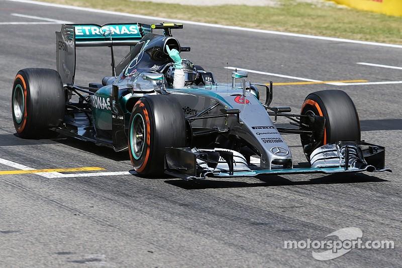 """Nico Rosberg s'impose après un """"week-end parfait"""""""