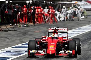 Formula 1 Race report Vettel on the podium, Raikkonen fifth