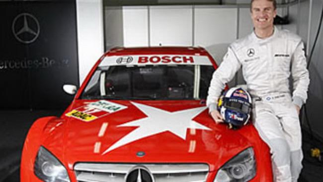 DTM: Coulthard ha provato la Mercedes