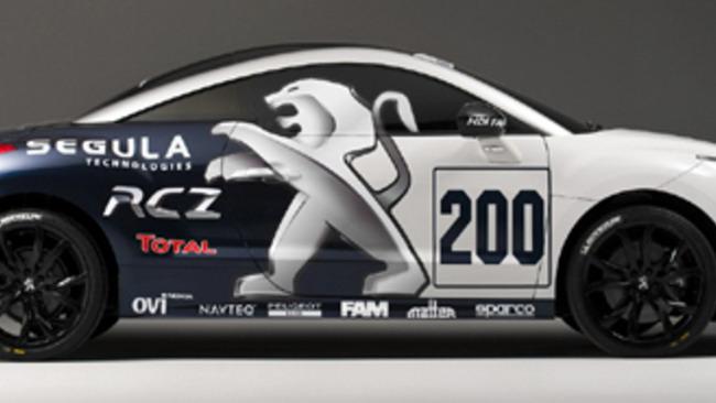 Peugeot RCZ alla 24h del Nurburgring