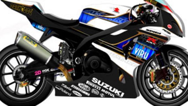 WSBK 2010: svelati i colori del team Alstare Suzuki