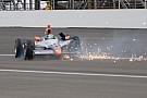 Indy 500: spettacolare incidente per Viso