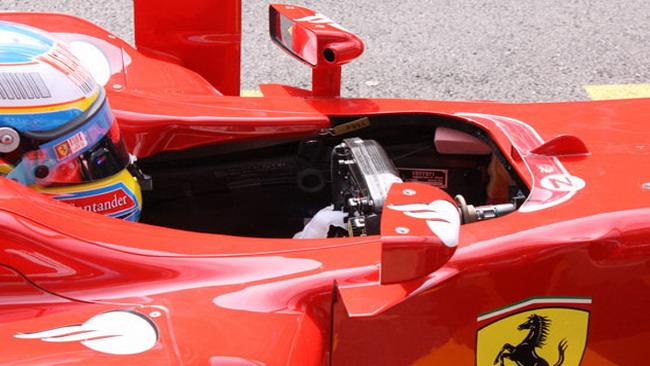 La Ferrari in... gamba con l'F-Duct