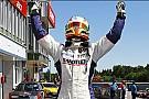 Esteban Guerrieri sul gradino più alto del podio a Brno
