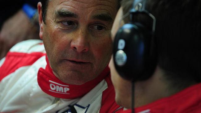 Nigel Mansell trasferito in Ospedale
