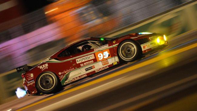 Fisico sbatte e la Ferrari precipita in classifica