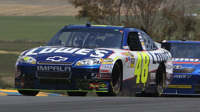 Ambrose regala la vittoria a Johnson a Sears Point