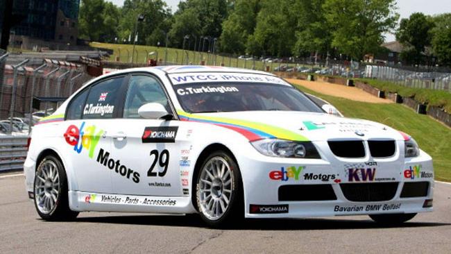eBay Motors colora la BMW di Turkington